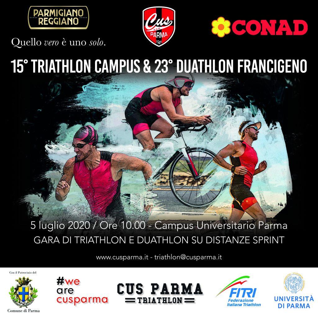 15° Triathlon Campus & 23° Duathlon Francigeno – CUS Parma A.S.D.